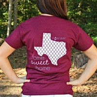 Home Sweet Home Tee - Texas A&M