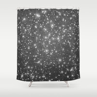 Logic Will Get You From Point A to Point B (Geometric Web/Constellations) Shower Curtain by soaring anchor designs ⚓ | Society6