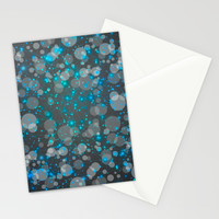 In the Midst of Movement & Chaos (Geometric Galaxy) Stationery Cards by Soaring Anchor Designs ⚓ | Society6