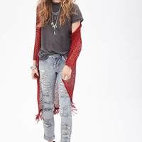 FOREVER 21 Low Rise - Destroyed Boyfriend Jeans
