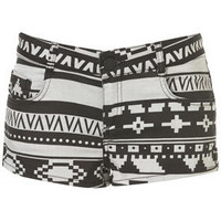 MOTO Aztec Hotpants - Shorts