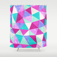 Movement 3 Shower Curtain by Jacqueline Maldonado