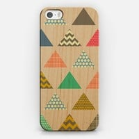 geo triangles iPhone 5s case by Sharon Turner | Casetify