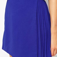 Fashion Union Wrap Skirt With Pleating at asos.com