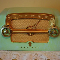 Fantastic Art Deco Antique Crosley Radio, Mancave, Bar Decor, Madmen, Model E-15CE - See/Hear it Play