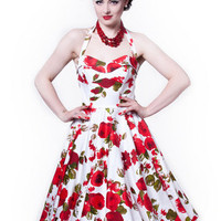 Ruby Tuesday - 1950s circle dress