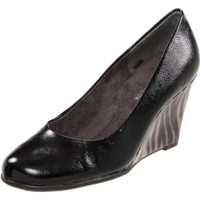 Aerosoles Women`s Plum Tree Wedge Pump,Black Charcoal Leather,8.5 W US