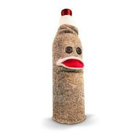 Sock Monkey Wine Caddy by Fred & Friends - Whimsical & Unique Gift Ideas for the Coolest Gift Givers