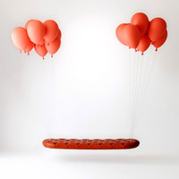 Balloon Bench and Balloon Light by h220430 » Yanko Design