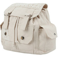 Crochet Trim Backpack 186576415 | Backpacks &amp; Bags | Tillys.com