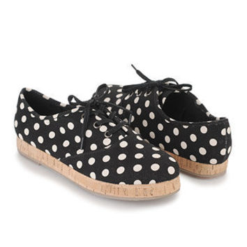 Polka Dot Tennis Shoes