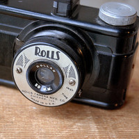Vintage Bakelite Camera - Rolls Camera Mfg. Co. Chicago, Illinois Photo Master