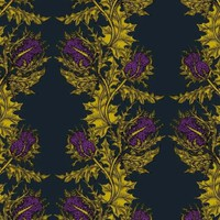 Timorous Beasties - Wallcoverings  - Grand Thistle