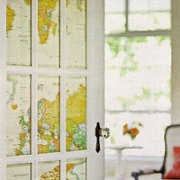 DIY Projects / decorating with maps