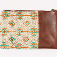 Tribal Leather Carryall | TOMS
