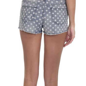 Ellison Jean Shorts Polkadot – Famous Style by Stalhi Boutique