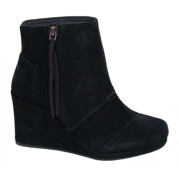 TOMS Desert Wedge High Boot | Sundancebeach.com