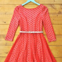 Field of Poppies Dress, boho and vintage inspired clothing