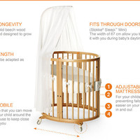 Stokke Sleepi Convertible Nursery Bed - Stokke® United States