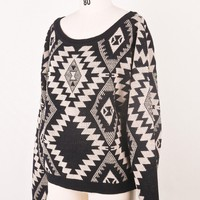 Sparks between Aztec Sweater