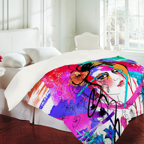 DENY Designs Home Accessories | Holly Sharpe Passion Duvet Cover