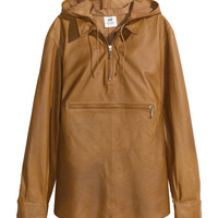 H&M - Leather Shirt - Camel - Ladies