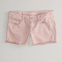 AE Colored Denim Midi Short | American Eagle Outfitters