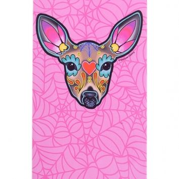 """Woodland Deer"" iPhone 5 Case by Sourpuss Clothing (Pink)"