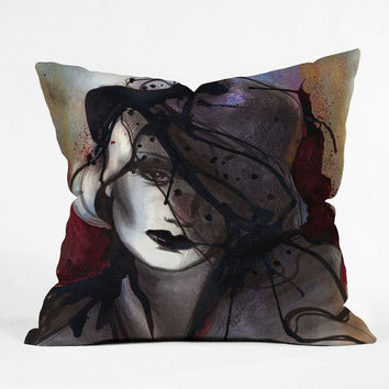DENY Designs Home Accessories | Deniz Ercelebi Mystic Iron Throw Pillow