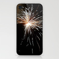 Fireworks 1 iPhone & iPod Skin by CosmosDesignz | Society6