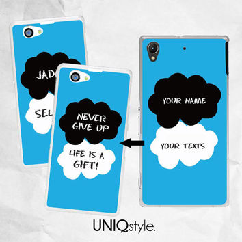 Customized TFIOS phone case with your name,texts or message - iPhone 4/4s iPhone 5/5s 5c case - Samsung S4 S5 Note3 case - okay? okay. - C39