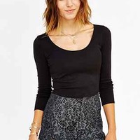 Pins And Needles Jacquard Pin-Up Short - Urban Outfitters