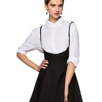 Camille Suspender Skirt
