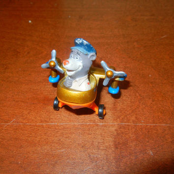 1992 Tailspin Baloo with Diecast Plane.  Disney