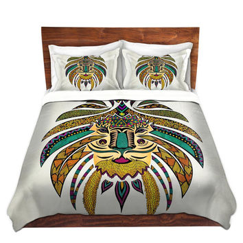Emperor Tribal Lion Bed Duvet Cover – For Twin, Queen and King Size Beds