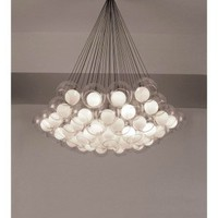 PLC Lighting 86625 SN - Hydrogen Modern / Contemporary Chandelier PLC-86625-SN