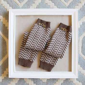 Chevron Knit Boot Socks