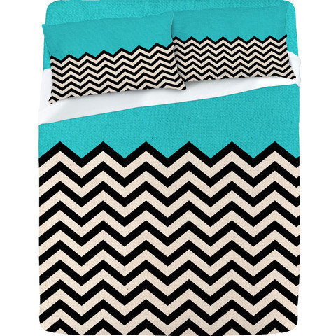 Follow The Sky - Sheet Set by Bianca Green | DENY Designs