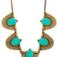 GYPSY WARRIOR - Isis Turquoise Necklace