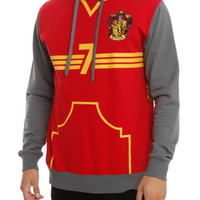 Harry Potter Gryffindor Quidditch Training Pullover Hoodie
