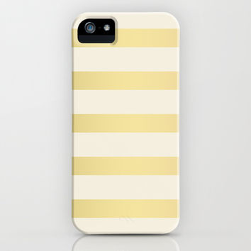 Golden Stripes iPhone & iPod Case by Pati Designs | Society6