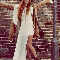 Free People Womens Offshore Tunic - Ivory