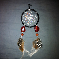 Dream Catcher - black and white
