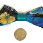 Blue and Black Butterfly Bow (Small)