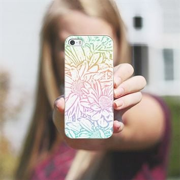 Daisy Daisy Pastel Rainbow iPhone 5s case by Lisa Argyropoulos | Casetify