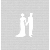 Jane Austen Pride and Prejudice Poster Text - Almost An Entire Novel on One Poster
