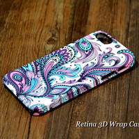 Peacock Feather iPhone 6 Plus/6/5S/5C/5/4S/4 3D Wrap Case - iPhone