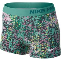"""Nike Women's Pro Core 3"""" Printed Compression Shorts - Dick's Sporting Goods"""