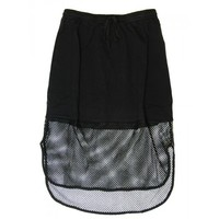 Mesh Out Skirt - Black - #Sporty