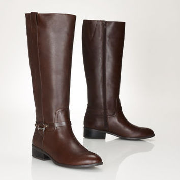 Leather Marla Riding Boot